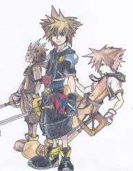 Three Soras by Darkava-Nokiven