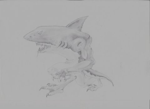 Mutant Shark by JasonW129