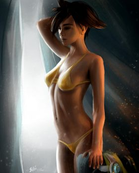 Tracer (fast painting) by SIBIROK