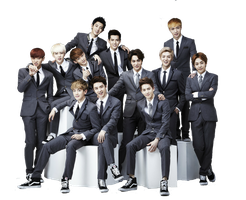 Exo's -Xoxo- 2013 Png by K-popx3
