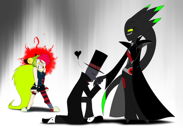 Black Hat, Vanida, and a Jealous Demencia by MysteryFanBoy718