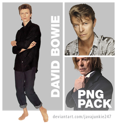 David Bowie PNG Pack 02 by JJ-247