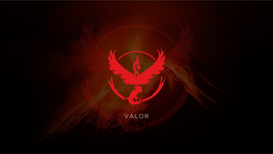Pokemon Go Wallpaper Valor by To4dd