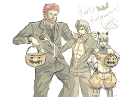 [FATE] hallowen by Br0ps
