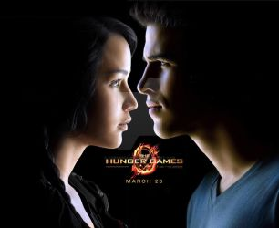 Katniss and Gale by CunningAngel