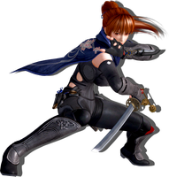 Kasumi Attack Render by EnlightendShadow