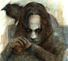 brandon lee-the crow by dholms