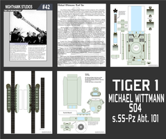 Tiger I papercraft by RocketmanTan