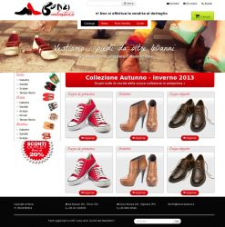 Site preview - shoes e-commerce 2 by Kanuka76