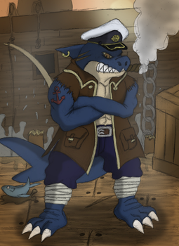 Captain Tunajaws Revised by makai-ryuu-smm
