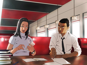 The Study Date by H-Voltage
