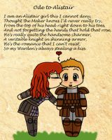 Ode to Alistair by A-Redheads-Ramblings