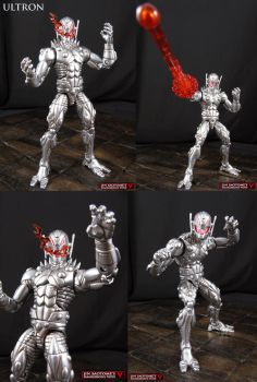 Custom Marvel Legends Ultron 2.0 Figure by Jin-Saotome