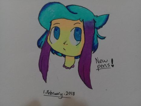 New pens!~ by CathrineDraws