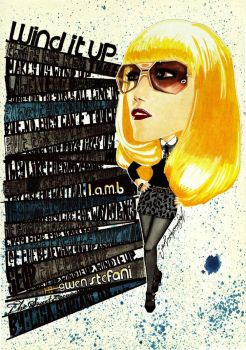Gwen Stefani 'Wind It Up' by lisasuriani