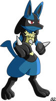 Lucario by blastertwo