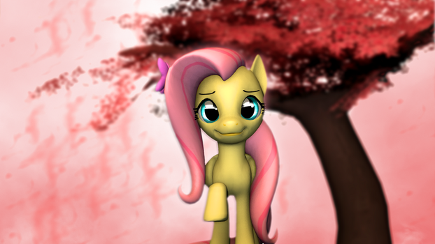 Fluttershy's Blossom by yellencandy