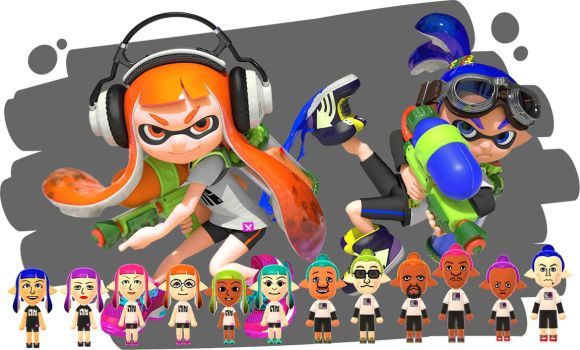 Inkling Mania by robbieraeful