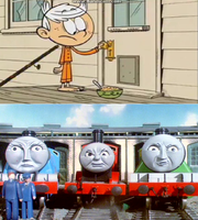 Gordon James and Henry's reaction to No Such Luck by Wildcat1999