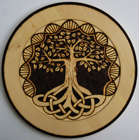 Tree of Life Plate by llinosevans