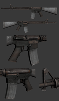 M16A4 by t17dr
