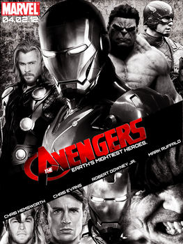The Avengers by Myst076