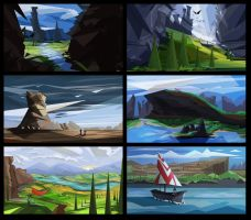 More landscapes by T1Mmi