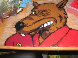 Splinter perler by ndbigdi