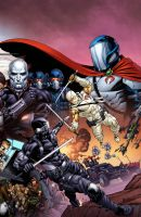 Snake Eyes Storm Shadow 17 cover by spidermanfan2099