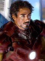 robert downey jr by fmignosi