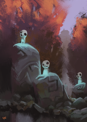 Silent watchers by George-Eracleous