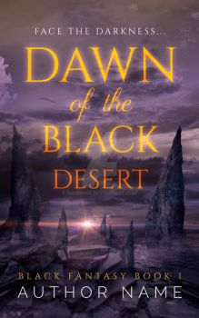 Book Cover Pre-Made: Black Desert (AVAILABLE) by arebg452