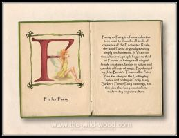 F is for Faery by WildWoodArtsCo