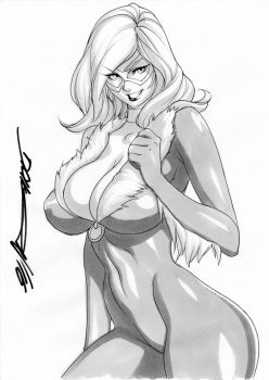 Commission - Blackcat by daicombo
