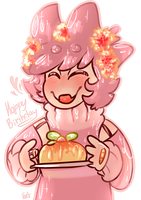 -GIFT. Happy [early] Birthday- by MilanaArt