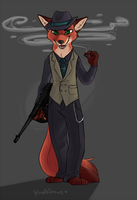 Wilde Gangster by yelnatsdraws