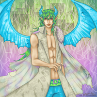 Winged Demon (contest entry) by theanimeaxis