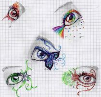 Fantasies eyes by Cecilou-chan