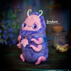 cute bug art toy by furrykami by Furrykami-creatures