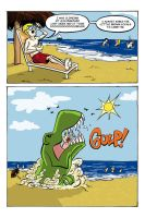 Dinosaur Eats People Page 8 by MontyRohde