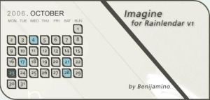 Imagine for Rainlendar v1 by Benijamino