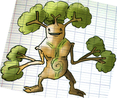 Sudowoodo Evo: Authentree