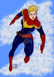 Captain Marvel by guygar79