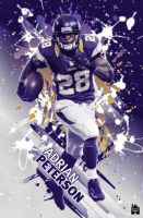 Adrian Peterson by HowseholdGraphics