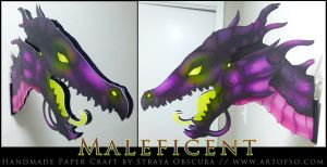 Maleficent by StrayaObscura
