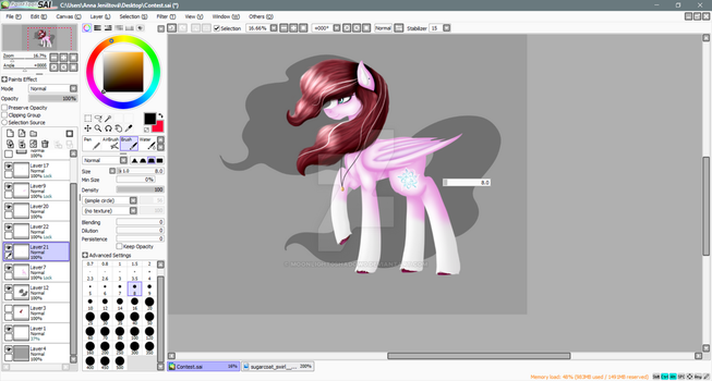 W.I.P.(Contest entry) by Moonlight0Shadow0