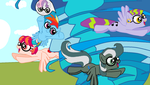 MLP authority swap #15 R.D. and Sweetie Bell part2 by TheWalrusclown