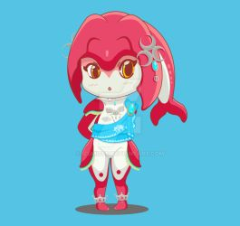 BOTW Mipha by Izumigee