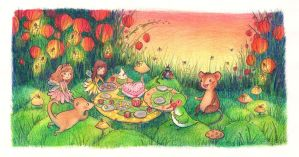 Snack party by Adelaida