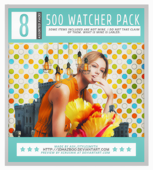 Ash's 500 Watcher Pack! by 1Dhazboo